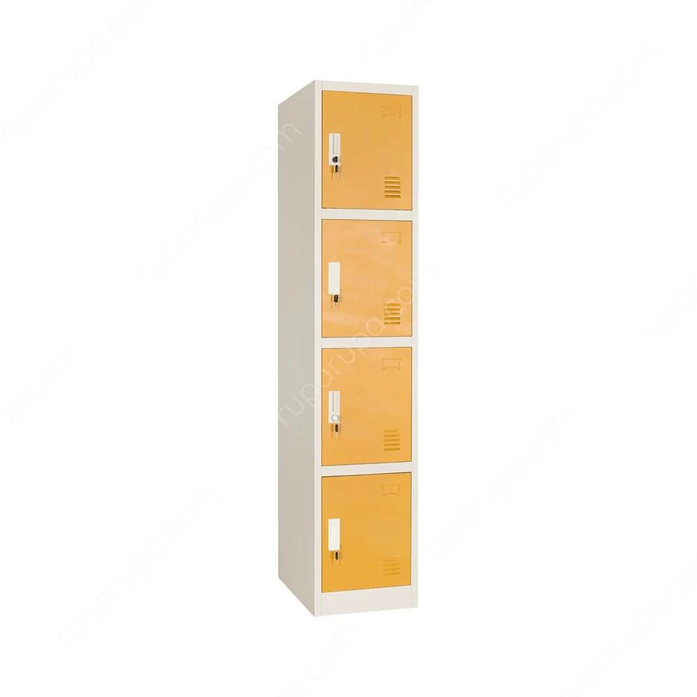 loker baja ringan bekasi jual 4 pintu putih kuning terbaru ruparupa