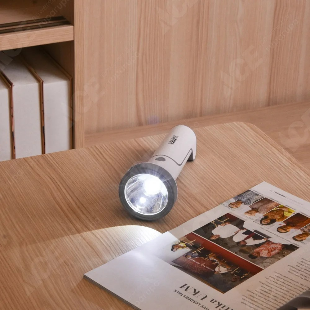 aplikator baja ringan nipa kota makassar sulawesi selatan jual powerlite senter rechargeable dengan lampu meja original ace