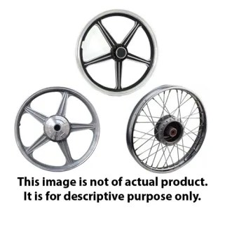 ALLOY WHEEL DISCOVER 125 (REAR) BAJAJGP- Motorcycle Parts