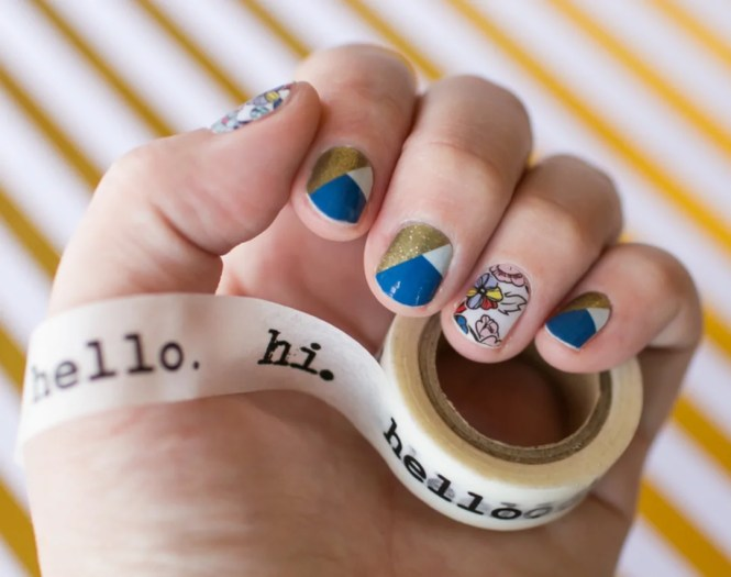 The Perfect Diy Cool Sneakers Nail Art Cretíque