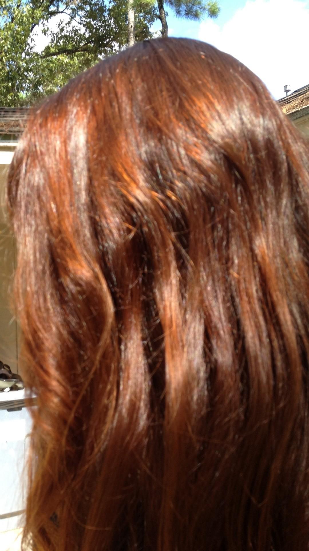 henna hair dye to