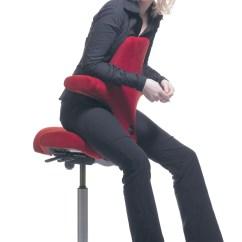 Hag Posture Chair Swivel Jefferson Six Comfy Office Chairs With Style Sarasota Magazine Capisco Leder 8106 Antigo Soft Schwarz Gestell Silber 2 Gyepku