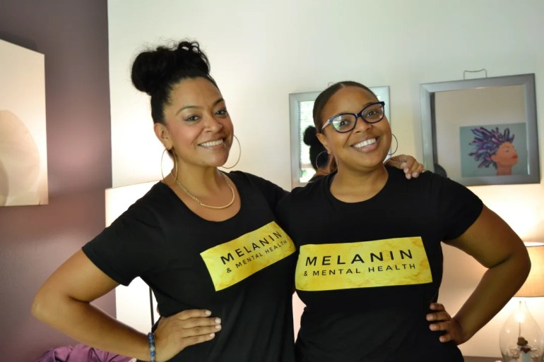 Melaning and mental health, a mental health organization for POC