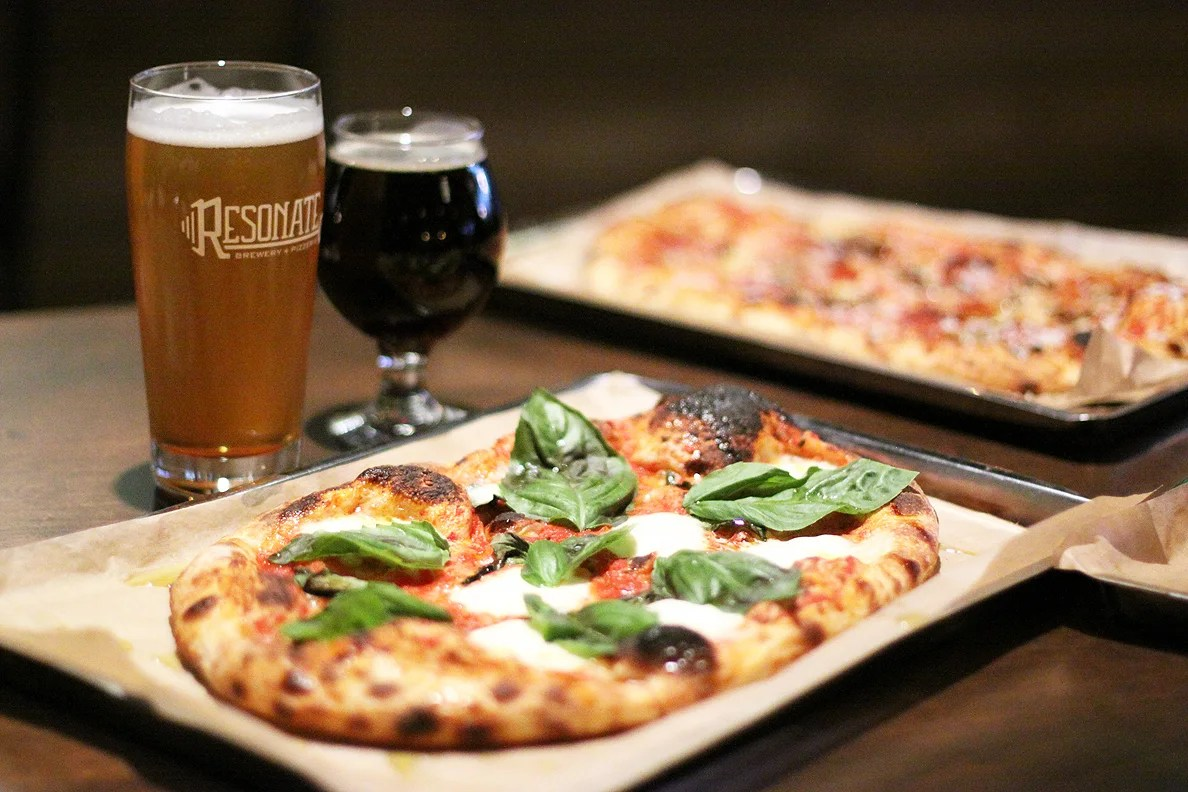 resonate brewery and pizzeria