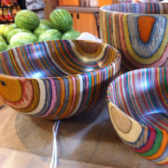 Multi Colored Laminate Wood