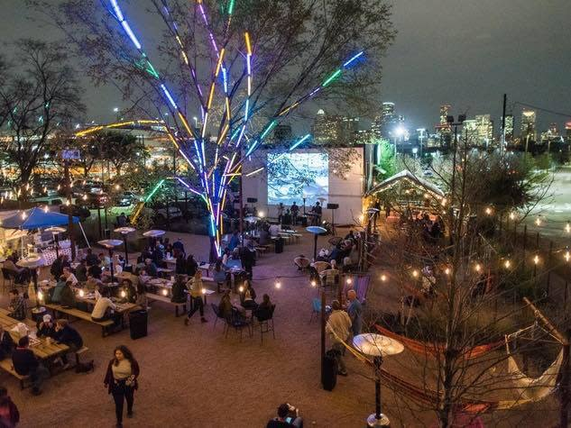 Axelrad Beer Garden  Bars  Houstonia