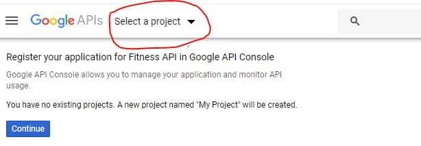Google New Project