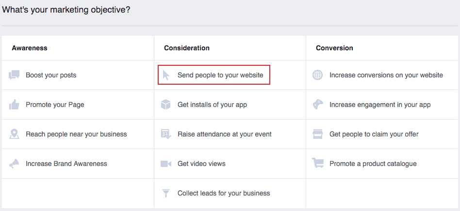 Advertising on Facebook: create an ad for your salon