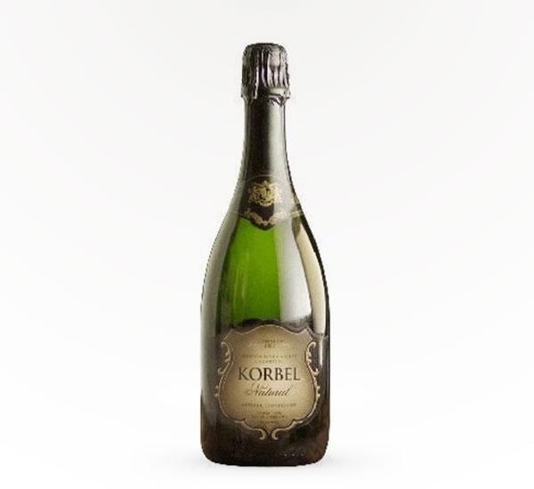 korbel natural champagne sparkling