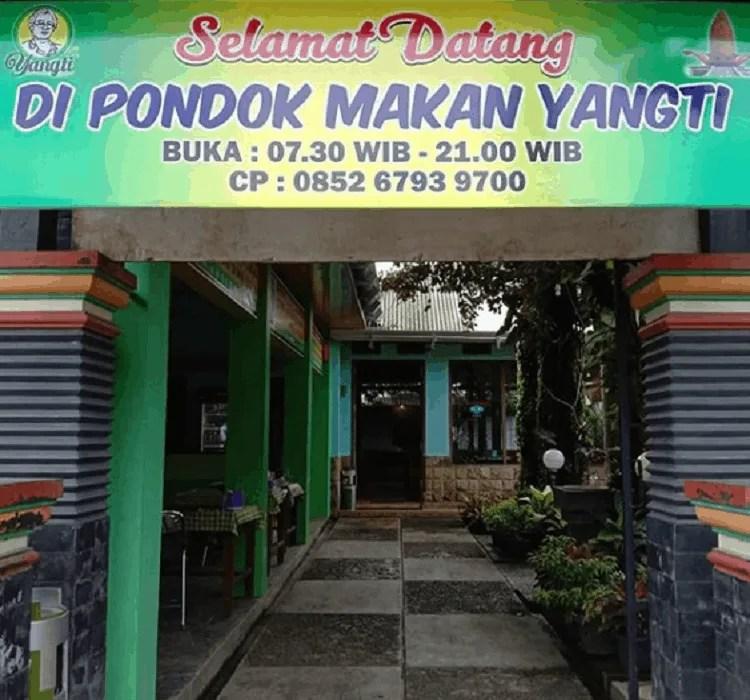 Wisata Pondok Yangti
