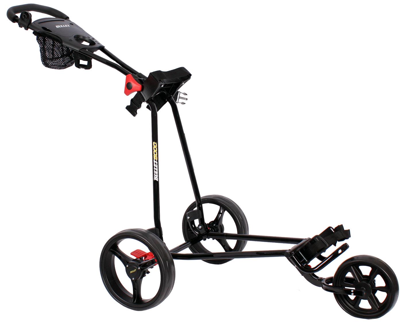 Golftrolley Golfwagen Caddy Golf Wagen Neu Wei Schwarz