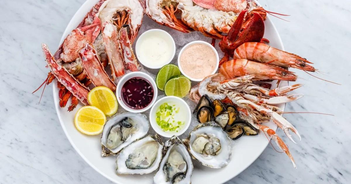 comment realiser un plateau de fruits de mer frais selon mathieu gauthier