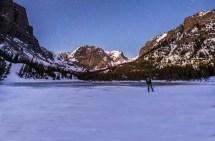Girl In Estes - Colorado Winter