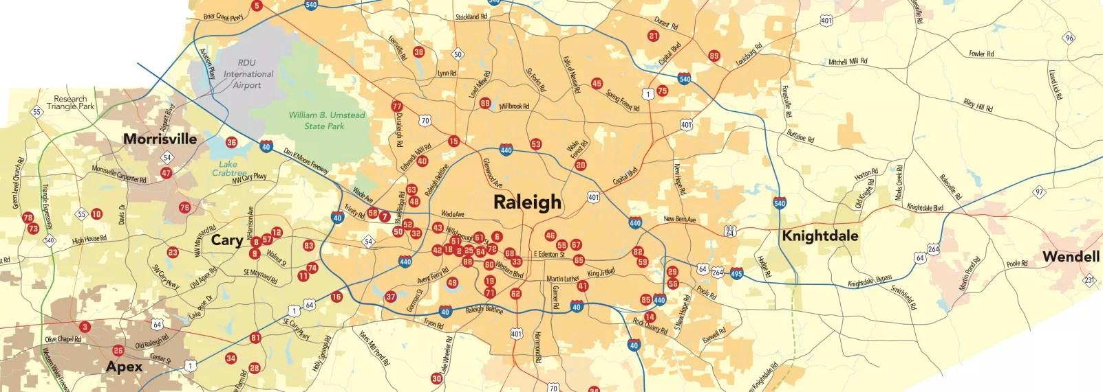 Printable Calendars of Events Happening in Raleigh, N.C.