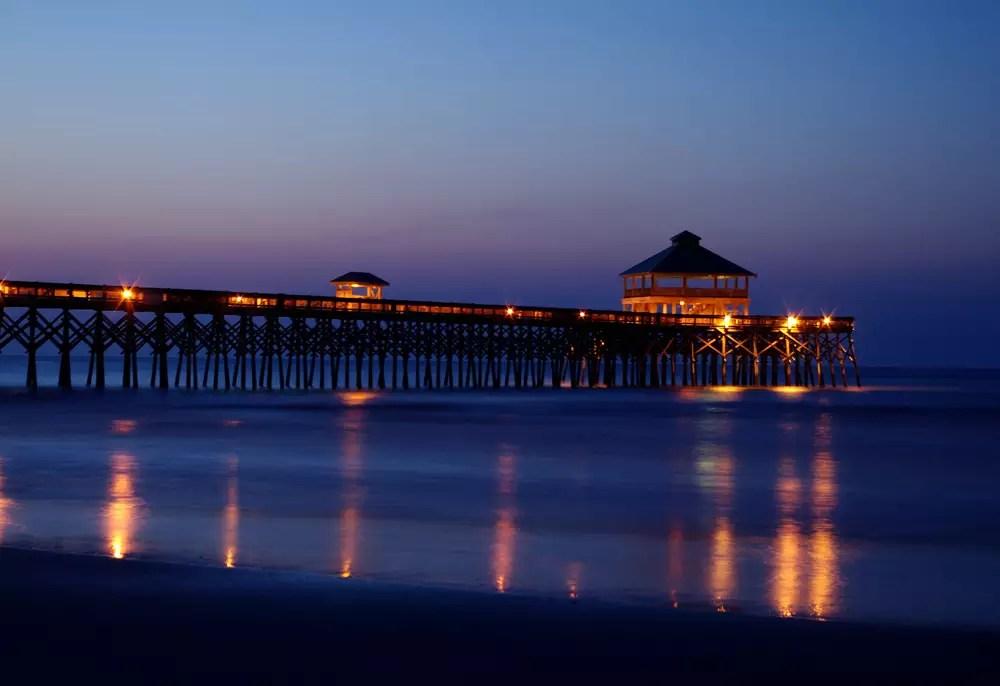 Folly Beach Pier  Charleston Area CVB
