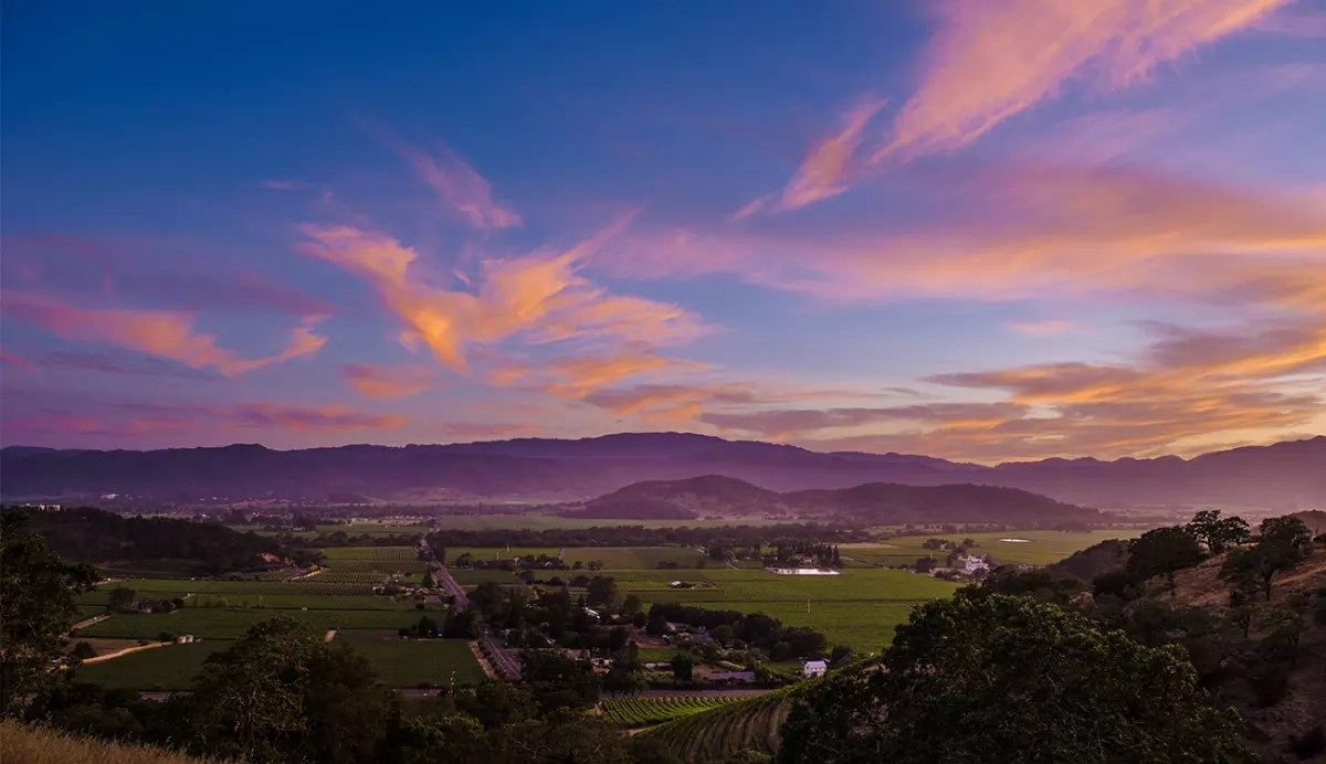 Best Places To Watch The Sunset In Napa Valley The Visit