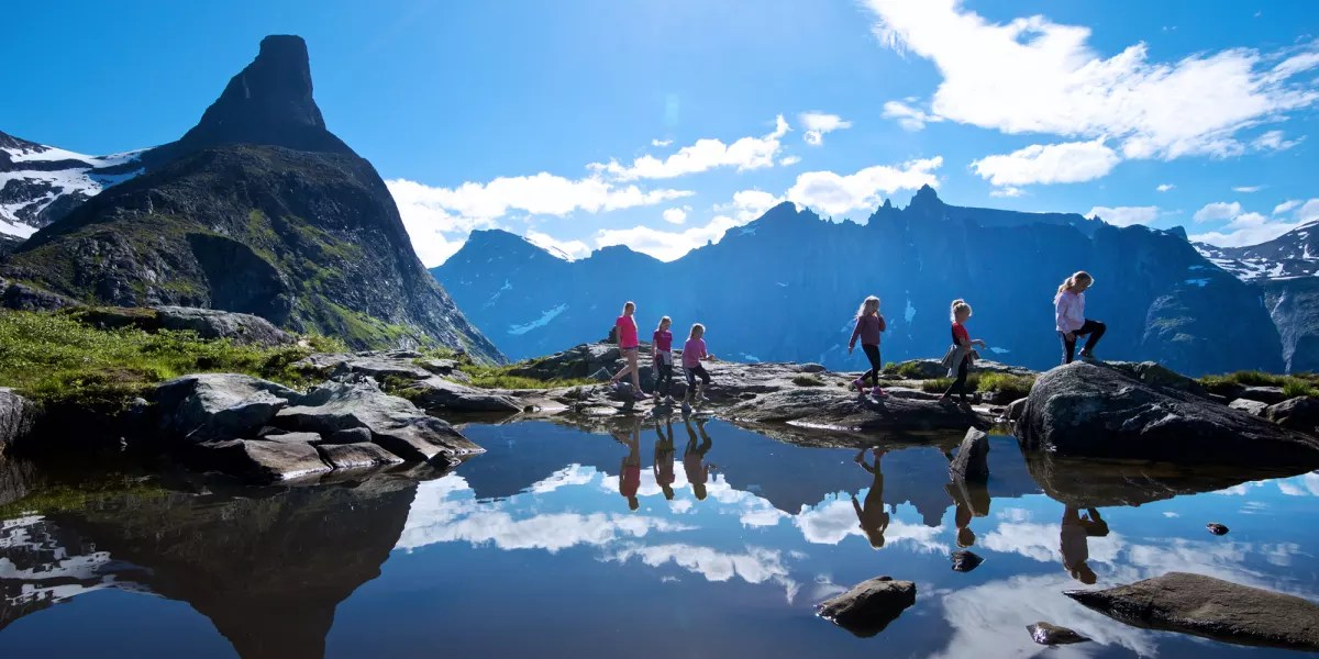 Montagnes En Norvge Jotunheimen Rondane Sunnmre