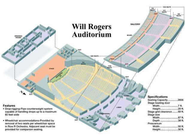 will rogers coliseum seating chart map brokeasshomecom