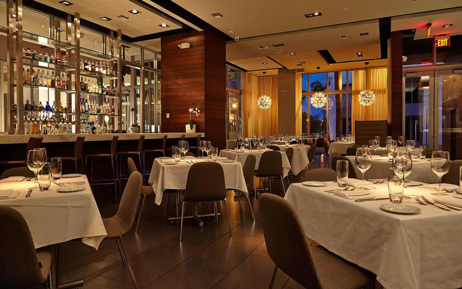 kitchen miami built in table mc restaurants