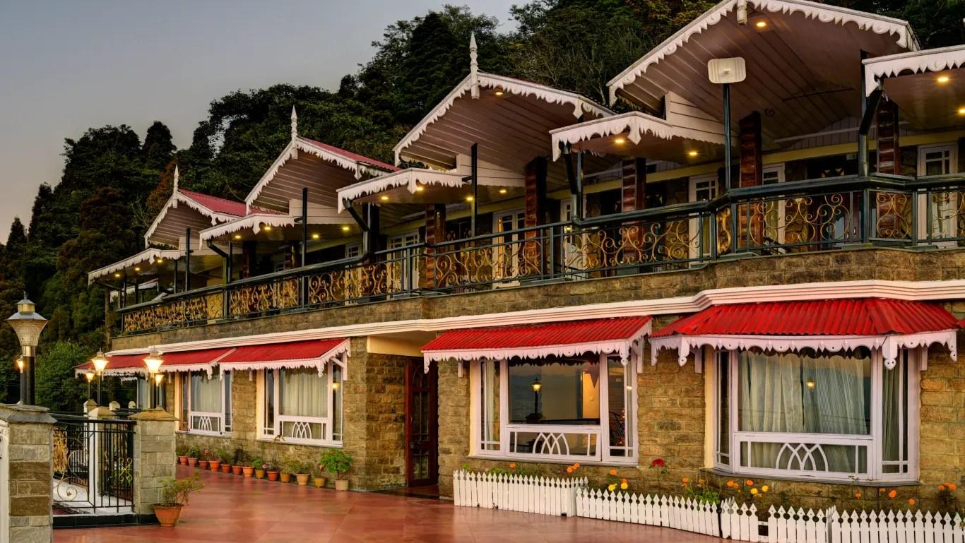 Darjeeling Hotels Summit Grace Hotel And Spa Best Hotels