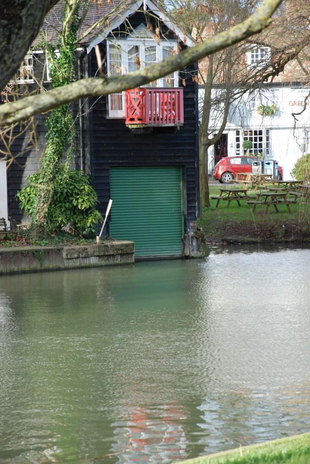 Un garage à bateau!!!
