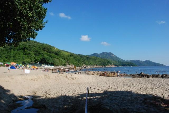 La plage!!!