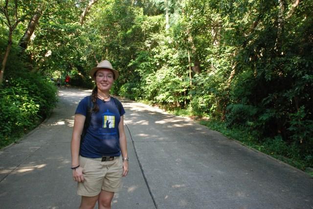 C'est mon beau chapeau de touriste!