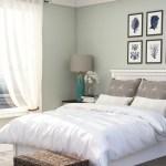 Coastal Farmhouse Guest Bedroom Design By Spacejoy
