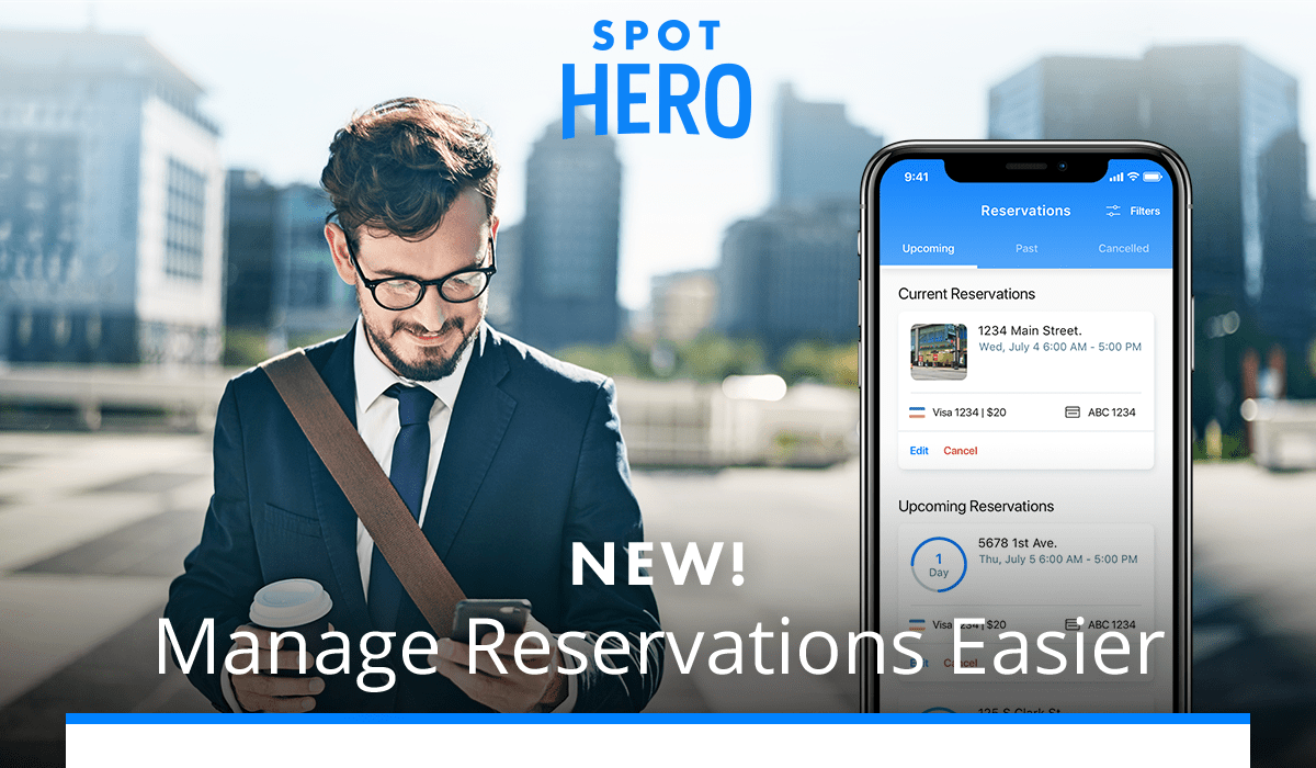 NEW! Manage Reservations Easier