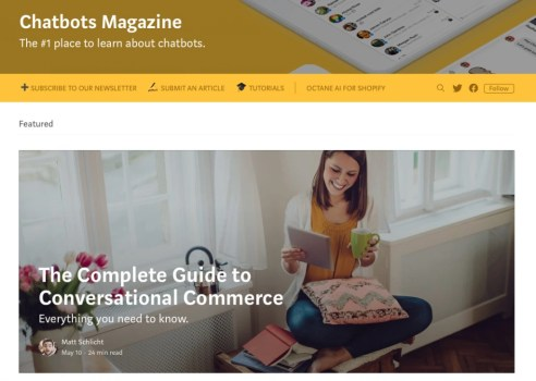Chatbots Magazine