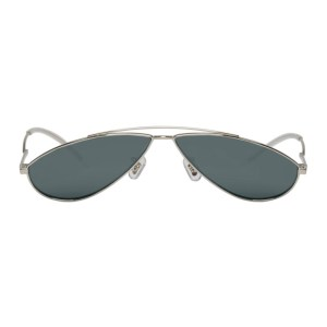 Gentle Monster Silver Kujo Sunglasses