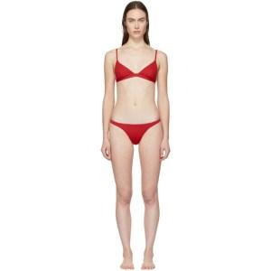 Her Line Red Ava and Tri Bikini