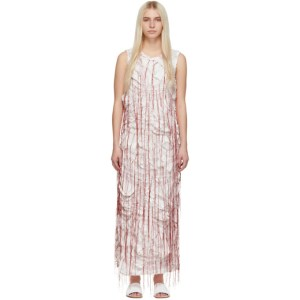 Marina Moscone White Sheath Dress