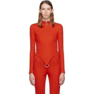 Rudi Gernreich Red D-Ring Sweater