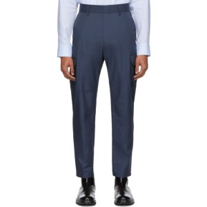 Tiger of Sweden SSENSE Exclusive Blue Clone Cargo Pants