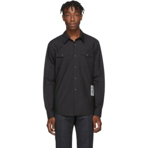 Tiger of Sweden SSENSE Exclusive Black Nafve Shirt
