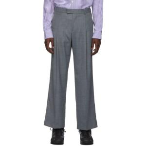 Martin Asbjorn Grey Wool Trupo Trousers
