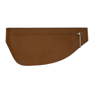 Sportmax Tan Leather Gordon Pouch