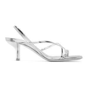 Nicholas Kirkwood Silver Leeloo Strappy Sandals