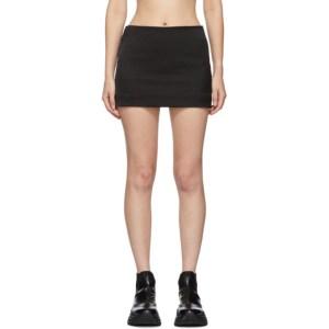 Gauge81 Black Rome Miniskirt