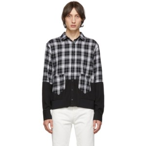 Neil Barrett Black Blouson Shirt