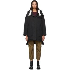 Yves Salomon - Army Reversible Black Down Doudoune Jacket