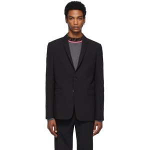 Fendi Black FF Tape Blazer