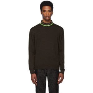 Fendi Brown Forever Fendi Sweatshirt