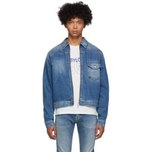 Tiger of Sweden Jeans Blue Denim Ry Zip Jacket