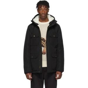 Aime Leon Dore Black Woolrich Edition Mountain Jacket