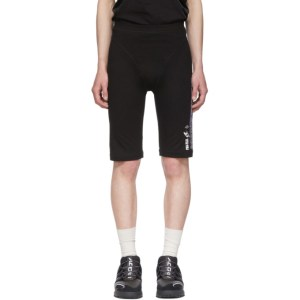 adidas Originals by Alexander Wang Black Graphic 80s Shorts