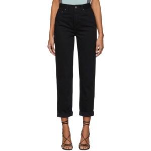 Grlfrnd Black The Devon Jeans