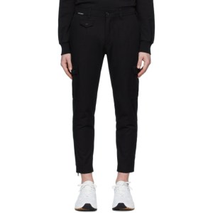 Dolce and Gabbana Black Essential Cargo Pants