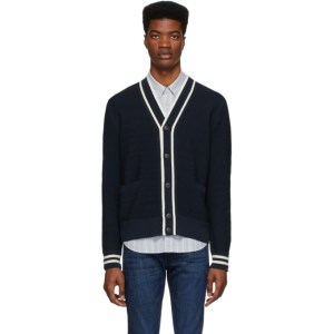 rag and bone Navy Edmond Cardigan